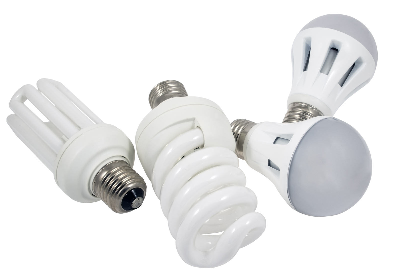 CFL light bulbs